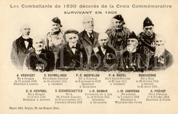 ROYALTY / België / Belgique / Les Combattants De 1830 Décorés De La Croix Commémorative / 1905 / Unused - Patrióticos