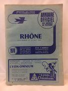 Annuaire Téléphonique Officiel Des Abonnés Au Téléphone - Rhône - 1970 - Annuaires Téléphoniques