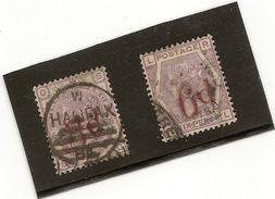 Grande Bretagne N° 74 Et 75 Oblitéré  Premier Choix - 1840-1901 (Victoria)
