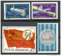 Rumänien - Mi .Nr.    3792 -3793  + 4339 + 4417     -  Gestempelt - 1948-.... Republiken