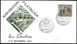 Spagna/Spain/Espagne: Stemma Di Città, Armoiries De La Ville, Coat Of Arms Of City - Buste