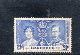 BARBADOS 1937 O - Barbados (...-1966)