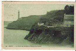 CPA - BREST - Le Phare De Portzic à L Entrée Du Goulet - Beuzec-Cap-Sizun