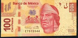 Mexico P124h 100 Pesos 19.12.2012 AA.       VF Folds - Mexico