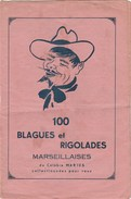 100 BLAGUES ET RIGOLADES MARSEILLAISES DU CELEBRE MARIUS -               TDA225 - Humour