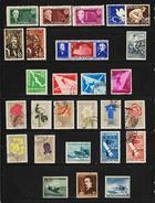 Year 1957  Mi No 1632/1696 - Rumänien