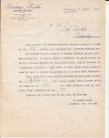 OFFICIAL COMMERCIAL LETTER, TEA IMPORT, CONSTANTA-CAMPULUNG MOLDOVENESC, BUKOVINA, 1937, ROMANIA - Factures & Documents Commerciaux