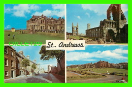 ST ANDREWS, SCOTLAND -  4 MULTIVIEWS - ROYAL & ANCIENT GOLF CLUB N. P. O. LTD - - Fife