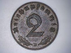 Allemagne 2 Reichspfennig 1939 B Deutsches Reich - 2 Reichspfennig