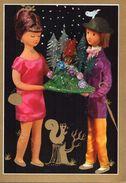 Couple Poupée Peynet - Le Cadeau De Noël - Peynet