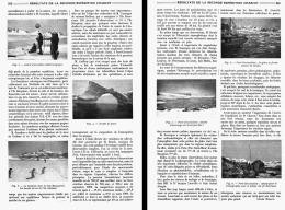 RESULTATS SCIENTIFIQUES  DE LA SECONDE EXPEDITION CHARCOT    1910 - Géographie