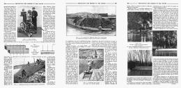 LA PROTECTION DES BERGES ET DES DUNES   1910 - Non Classés