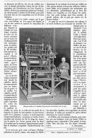 UNE HORLOGE GEANTE (  HORLOGE-CARILLON De La BASILIQUE  SAINT-GERMAIN D'AVRANCHES )   1906 - Bijoux & Horlogerie