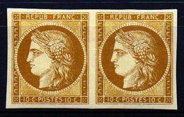 SUPERBE CERES  Paire Du N°1a  De SPIRO  NEUF** LUXE 1er Choix - 1849-1850 Ceres