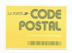 LA POSTE CODE POSTAL - Poste & Facteurs