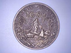 POLYNESIE FRANCAISE 100 FRANCS 1976 - French Polynesia