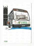 60  ANS DE TRANSPORT URBAIN à AUBIERE PUY DE DOME 1993 - Buses & Coaches