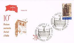 24529. Carta TRIESTE (Italia) 1973. Raduno Nazionale Autieri - 6. 1946-.. Repubblica