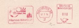 Germany  Machine Cancel On Fragment 1974 FIFA World Cup Football - Hamburg Hanse-Merkur (DD5-8) - Coppa Del Mondo