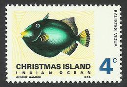 Christmas Island, 4 C. 1968, Sc # 25, Mi # 25, MH. - Christmas Island