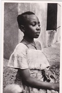 NIGER NIAMEY  - TYPE DE JEUNE FILLE INDIGINE   AUTENTICA 100% - Africa