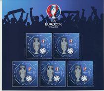 Bloc UEFA édition Spéciale Paris-Philex 2016 - Ungebraucht