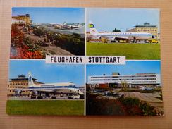 AIRPORT / FLUGHAFEN / AEROPORT     STUTTGART   DC 8 PAN AM - Aerodrome