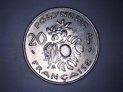 POLYNESIE FRANCAISE - 20 FRANCS - 1975 - French Polynesia