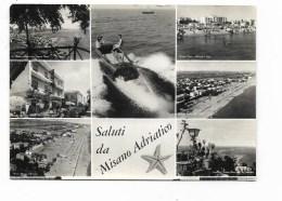 SALUTI DA MISANO ADRIATICO  VIAGGIATA   FG - Rimini