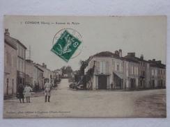 CONDOM - Avenue De Mézin (Colosisée) - CPA- CP- Carte Postale RARE - Condom