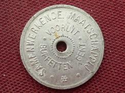 BELGIQUE Jeton De GENT Valeur 12 - Monetary / Of Necessity