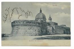 LORETO - BASTIONE DEL SANSOVINO  VIAGGIATA FP - Ancona