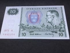 SWEDEN P52 10 Kronor 1975 Unc. - Suède