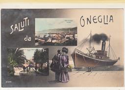Saluti Da Oneglia_Multivedute (Rara)_Vg Il 20.10.18-ORIGINAL-2 Scan- - Imperia