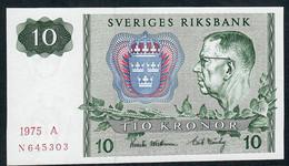 SWEDEN P51a  5 Kronor 1970 Unc... - Suède