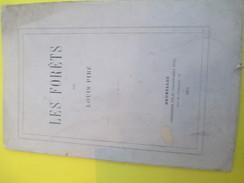 """Fascicule/Les Forêts """"/ Louis PIRE/ Bruxelles / 1872      MDP79 - Historical Documents"""