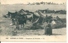 Afrique   Campement De Nomades - Cartes Postales