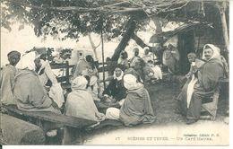 Afrique   Un Café Maure - Cartes Postales