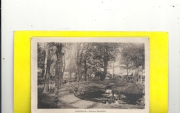 BORDEAUX . SQUARE GAMBETTA . AFFR LE 25 VIII 1936 AU VERSO . 2 SCANES - Bordeaux