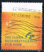 2016  500 Jahre Reinheitsgebot Für Bier - BRD