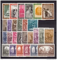 VATICAN 1966 -  Complete Year Set  MNH-VF ** - Vatican