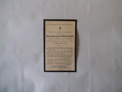 TOULOUSE MARIE ADELINE ANGELA ARTHAUD-LACROIX VEUVE DU GENERAL CHARLES BOYER DECEDEE LE 23 NOVEMBRE 1899 A 62 ANS - Images Religieuses
