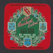 Etiquette De Fromage  Carré De L'Est -   Petit Maubert  -  Union Lait. Vittelloise  à  Bulgnéville  (88 AK ) - Cheese