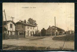 CUISERY . La Gare . Voir Recto Verso    (U518) - France