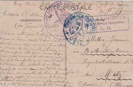 65 LOURDES DEPOT DU FORT DE LOURDES DES PRISONNIERS DE GUERRE - WW I