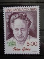 MONACO 1995   Y&T N° 1986 ** - CENT. DE LA NAISSANCE DE JEAN GIONO - Ongebruikt