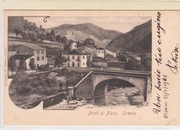 Ponte Ponti Di Nava-Ormea Prov.Cuneo -Vg Il 1.9.1902-ORIGINAL-2 Scan- - Cuneo