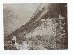 Photographie Courmayeur Glacier 1908 Photo 8x11 Cm - Places