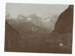 Photographie Courmayeur  1908 Photo 8x11 Cm - Places