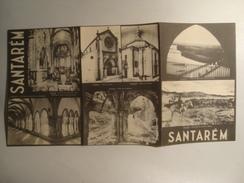 SANTARÉM - PORTUGAL, 1948. TRI-FOLD PAMPHLET W/ B/W PHOTOS. - Toeristische Brochures
